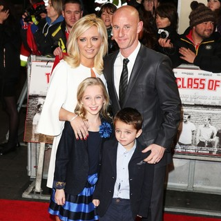 Shelley Barlow, Nicky Butt in The World Premiere of The Class of 92 - Arrivals