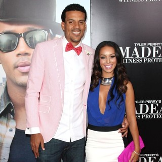 Matt Barnes, Gloria Govan in Tyler Perry's Madea's Witness Protection New York Premiere