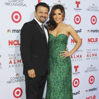 David Barrera, Maria Canals Barrera in The 2013 NCLR ALMA Awards