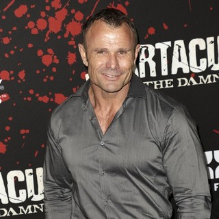 Barry Duffield in U.S. Premiere Screening of Spartacus: War of the Damned