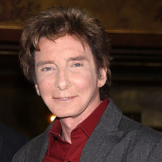 Barry Manilow in Manilow on Broadway Press Event