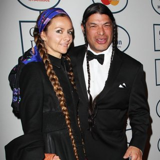Chloe Barthelemy, Robert Trujillo in 2014 Pre-Grammy Gala and Grammy Salute to Industry Icons - Clive Davis