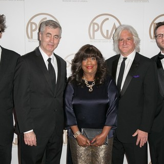 Garrett Basch, Steve James, Chaz Ebert, Mark Mitten, Zak Piper in 26th Annual Producers Guild of America Awards - Arrivals