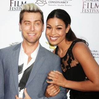 Lance Bass, Jordin Sparks in 2014 Catalina Film Festival - Left Behind Screening