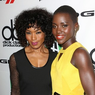 Angela Bassett, Lupita Nyong'o in The 17th Annual Hollywood Film Awards
