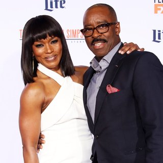 Angela Bassett, Courtney B. Vance in The Premiere of FX's American Crime Story