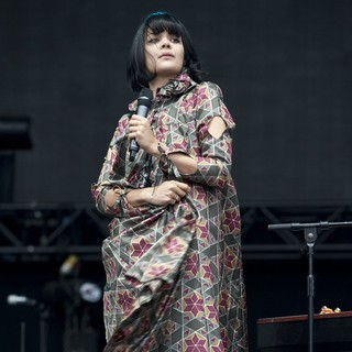 Bat for Lashes in Bestival 2012 - Day Four