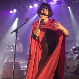 Bat for Lashes in Bat for Lashes Performs Live