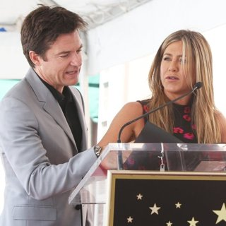 Jason Bateman, Jennifer Aniston in Jason Bateman Honored with Star on The Hollywood Walk of Fame