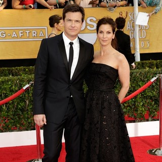 Jason Bateman, Amanda Anka in The 20th Annual Screen Actors Guild Awards - Arrivals