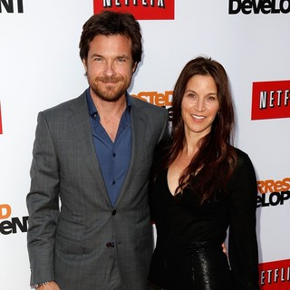 Jason Bateman, Amanda Anka in Netflix's Los Angeles Premiere of Season 4 of Arrested Development