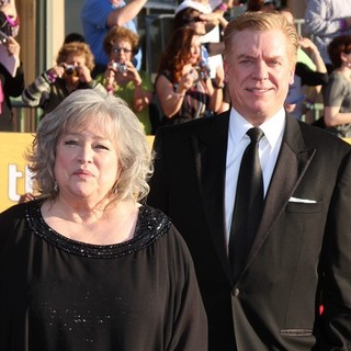 Kathy Bates, Christopher McDonald in The 18th Annual Screen Actors Guild Awards - Arrivals