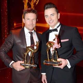 Felix Baumgartner, Andreas Gabalier in Bambi Awards 2012