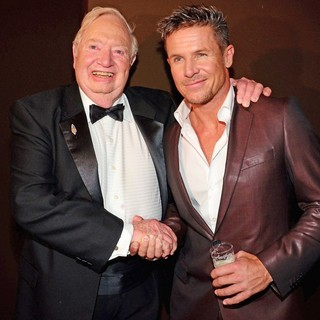 Felix Baumgartner, Joseph Kittinger in Bambi Awards 2012