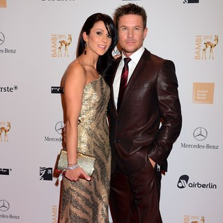 Nicole Oettl, Felix Baumgartner in Bambi Awards 2012