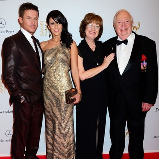 Felix Baumgartner, Nicole Oettl, Sherry Kittinger, Joseph Kittinger in Bambi Awards 2012