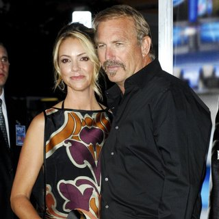 Christine Baumgartner, Kevin Costner in Premiere of Summit Entertainment's Draft Day
