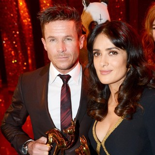 Felix Baumgartner, Salma Hayek in Bambi Awards 2012