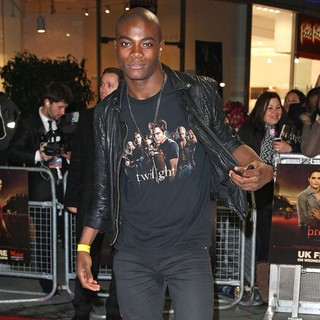 BB in The Twilight Saga's Breaking Dawn Part I UK Film Premiere - Arrivals