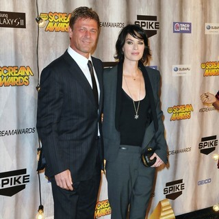 Sean Bean, Lena Headey in Spike TV's Scream 2011 Awards - Arrivals
