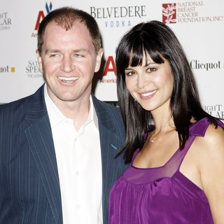 Adam Beason, Catherine Bell in The Super Bowl XLII Saturday Night Spectacular
