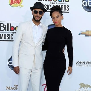 Swizz Beatz, Alicia Keys in 2012 Billboard Music Awards - Arrivals