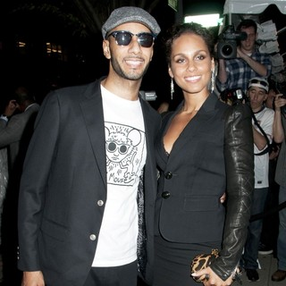 Swizz Beatz, Alicia Keys in Lifetime's Screening of Five