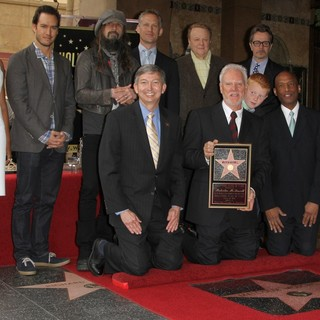 Garcelle Beauvais, Mark-Paul Gosselaar, Rob Zombie, Leron Gubler, Reed Diamond, Mike Kaplan, Malcolm McDowell, Beckett Taylor McDowell, Gary Oldman, Marty Shelton in The Hollywood Walk of Fame Honors Malcolm McDowell