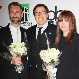 Michael Wilkinson, David O. Russell, Judy Becker in The 17th Annual Hollywood Film Awards