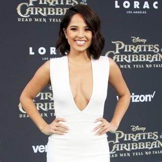 Becky G-The Los Angeles Premiere of Pirates of the Caribbean: Dead Men Tell No Tales - Arrivals