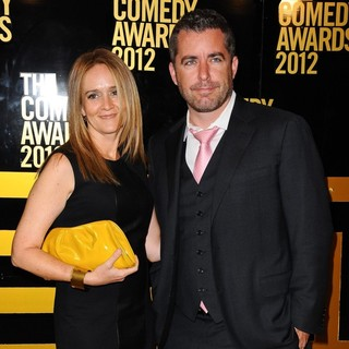 Samantha Bee, Jason Jones in The Comedy Awards 2012 - Arrivals