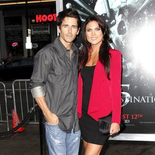 Brandon Beemer, Nadia Bjorlin in The LA Premiere of Final Destination 5