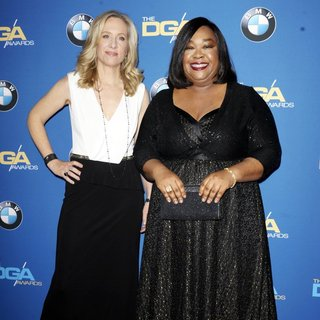 Betsy Beers, Shonda Rhimes in The 66th Annual DGA Awards - Arrivals