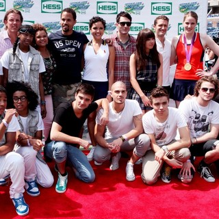 Mindless Behavior, Rachel Crow, The Wanted, Owl City, Carly Rae Jepsen, Matthew Morrison, Missy Franklin in Arthur Ashe Kids Day 2012