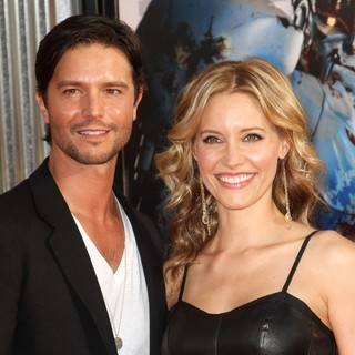 Jason Behr, KaDee Strickland in Los Angeles Premiere of Real Steel
