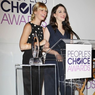 Beth Behrs, Kat Dennings in People's Choice Awards 2014 Nominations Press Conference