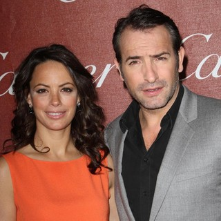 Berenice Bejo, Jean Dujardin in The 23rd Annual Palm Springs International Film Festival Awards Gala - Arrivals