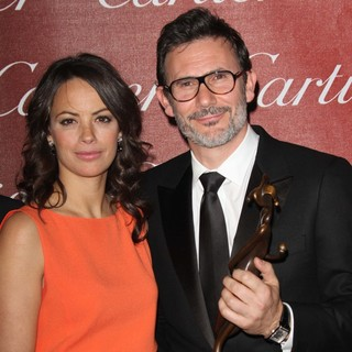 Berenice Bejo, Michel Hazanavicius in The 23rd Annual Palm Springs International Film Festival Awards Gala - Press Room