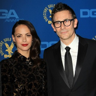 Berenice Bejo, Michel Hazanavicius in 65th Annual Directors Guild of America Awards - Arrivals