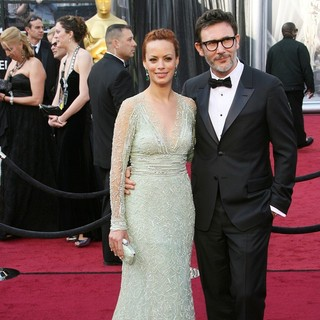 Berenice Bejo, Michel Hazanavicius in 84th Annual Academy Awards - Arrivals