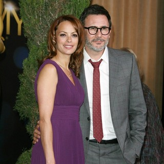 Berenice Bejo, Michel Hazanavicius in 84th Annual Academy Awards Nominees Luncheon