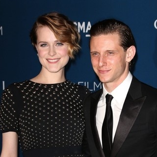 Evan Rachel Wood, Jamie Bell in LACMA 2013 Art and Film Gala Honoring Martin Scorsese and David Hockney Presented by Gucci
