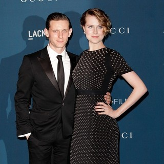 Jamie Bell, Evan Rachel Wood in LACMA 2013 Art and Film Gala Honoring Martin Scorsese and David Hockney Presented by Gucci