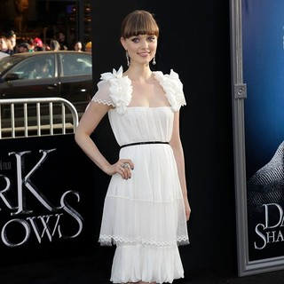 Bella Heathcote in Dark Shadows Premiere