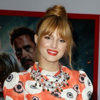 Bella Thorne in Iron Man 3 Los Angeles Premiere - Arrivals - bella-thorne-premiere-iron-man-3-02