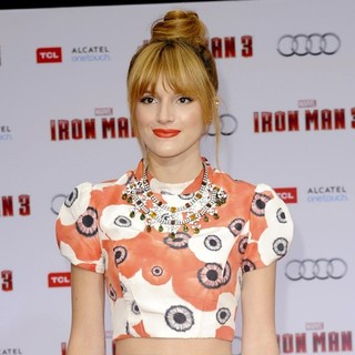 Bella Thorne in Iron Man 3 Los Angeles Premiere - Arrivals - bella-thorne-premiere-iron-man-3-03