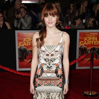 Bella Thorne in Premiere of Walt Disney Pictures' John Carter