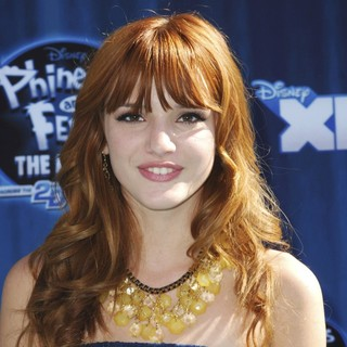 Bella Thorne in Hollywood Premiere of The Disney Channel Original Movie Phineas and Ferb Across the Second Dimension