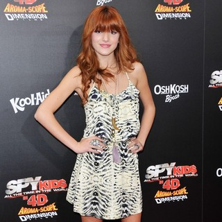 Spy Kids 4 All the Time in the World Los Angeles Premiere - bella-thorne-premiere-spy-kids-4-02