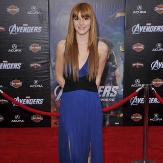 Bella Thorne in World Premiere of The Avengers - Arrivals